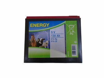 Bateria ENERGY  9V 130Ah do Elektryzatorów