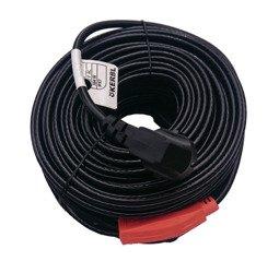 Kabel grzewczy przewód grzejny 24m z termostatem KERBL