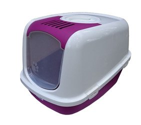 Kuweta NESTOR JUMBO biało - purpurowa (różowa) NJR