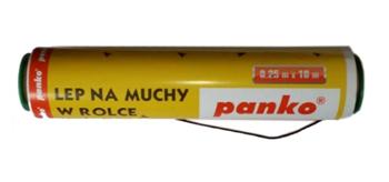 Lep na muchy 25cm w rolce - 10m PANKO