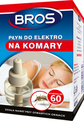 Płyn na komary 40ml do elektrofumigatora na komary Bros