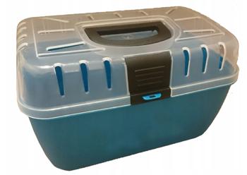 Transporter Twister 29x19x18cm niebieski / morski
