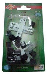 Złączka krzyżowa  do linki 3mm  LITZCLIP  5szt -kpl