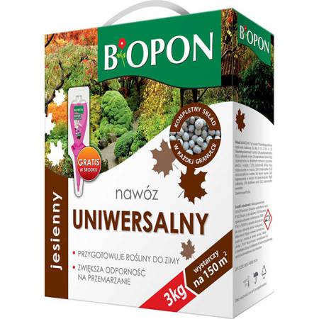 BIOPON -Nawóz jesienny UNIWERSALNY  3kg