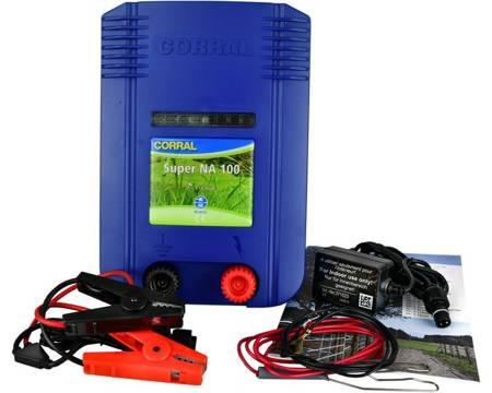 Elektryzator Corral NA100 DUO poł.sieciowe 230V i bateryjne 12V / 9V