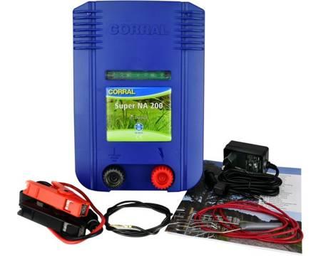 Elektryzator Corral NA200 DUO poł. sieciowe 230V i bateryjne 12V / 9V