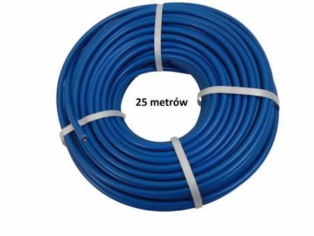 Kabel wysokiego napięcia 1,32mm 25 m miedziany 20,000V niebieski FISOL