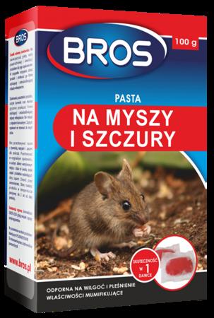 PASTA trutka miękka na myszy szczury 100g Bros