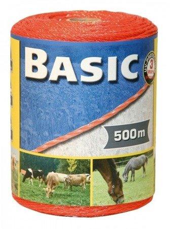 Plecionka BASIC 500m 3x0,16mm 60kg pomarańczowa