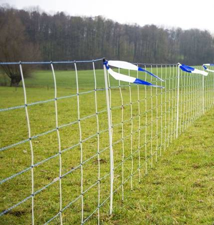 Siatka WolfNet Vario przeciw wilkom 50 m, 108 cm , poj.szpic niebieska