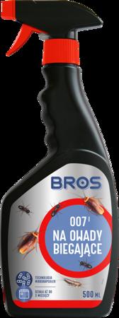 Spray na owady biegające 500ml Bros - 007