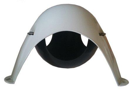 Sputnik XL (hamak) kolor szaro - czarny