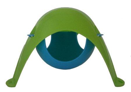 Sputnik hamak zielono - niebieski (podstawa - kopuła)
