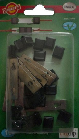 Złączka  do linki 3mm  LITZCLIP  10szt -kpl